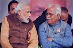 pm modi and cm khattar congratulate bjp on victory in jind