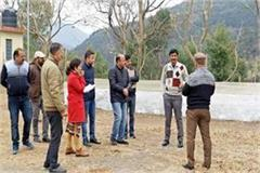 dc solan inspected the place of janmanch program