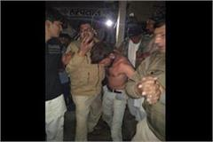 picture of mob lynching in rohtak haryana