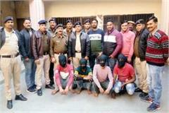 punjab connection of robbery and shootout in baddi 4 accused arrested