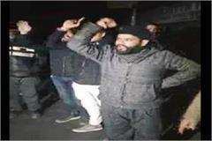 shimla light ghul people sloganeering