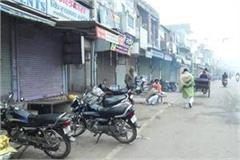 hansi closed for demand of district 11th day fast continued