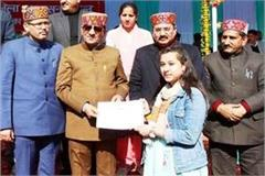 shamshi s nancy won 8 gold medals at a young age