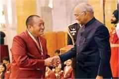 tashi namgyal get this honored by the president in delhi