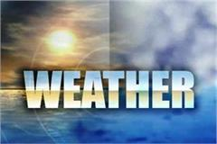 expect relief from weather soon possibility of temperature change from sunday