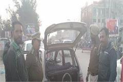 police deployed in the wake of security in adampur