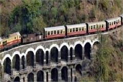 existence of kalka shimla railroad