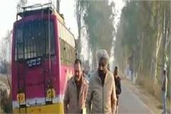 unseen road accident in una