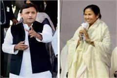 akhilesh yadav in support of mamta banerjee