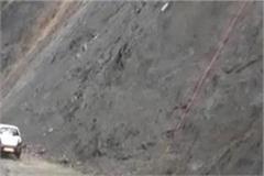 chamba roads in rain caused water water