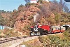 the 113 year old engine will run on the kalka shimla section