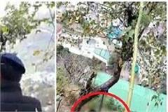 hanging from tree found person dead body
