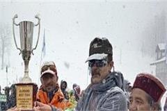 army wins national senior skiing championship