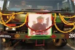 pulwama encounter martyr ajay s last visit with military honors