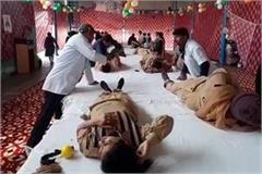 dera premis organised a blood donatoin camp for pulwama martyrs