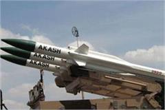 india deployed akash missile on punjab border