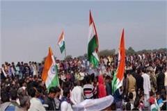 the funeral of shaheed somveer singh kadyan thousands