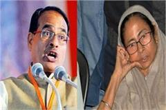 shivraj singh attacks on mamta bainergy