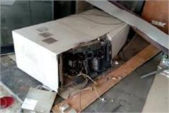 atm robbery in rohtak and julana