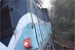 train derailing train from pathankot