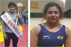 manju won title of haryana kumari naina won haryana kesari title
