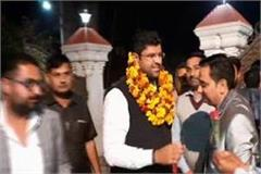 dushyant chautala s claim history of 1987 and 1989 will repeat jjp