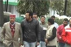 rajeev bindal reached nahan on cm visit
