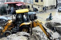 loss of rs 15 crores to the public works department with heavy rain in kullu