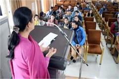 one day workshop in kullu students of tribal areas learn tricks of soft skill