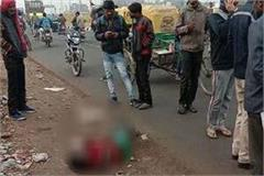 youth s body found in suspension near ballabhgarh bus stand