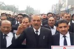 pulwama assault on lawyer fire brigade burnt effigy of pakistan