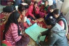 three day women rights and training program in kushinagar