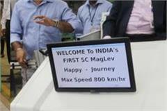 indore scientists prepares india first flying train maglev