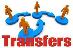 transfers in haryana police department