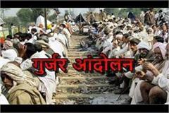 gujjar agitation in uttar pradesh for reservation virendra singh