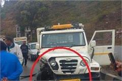 second incident in a few hours on chandigarh manali nh 21