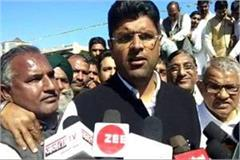 dushyana chautala commented on inld together bjp