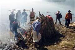 martyr rajendra gautam merged in panchatatta people gave final farewell