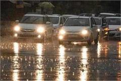 hail and rains on february 14 and 15 in uttar pradesh