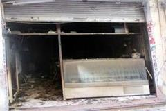 fierce fire in sweet shop loss of millions