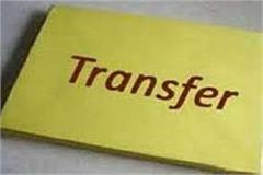 6 officers transferred