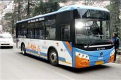 electric buses run on roads of shimla
