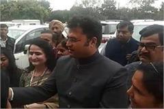 ashook tanwar commented on bjp