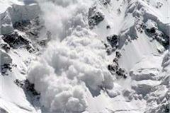 glacier fall in lahaul spiti 12 houses damaged by snow storm in ratoli