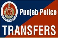 punjab police reshuffle transfer of 90 officers