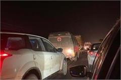 long stand on phagwara bypass people get disturbed