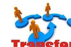 11 ias and pcs officers transferred