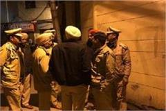 a clash between two factions in phagwara broken police vehicle