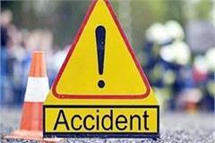 tremendous collision between 2 cars on una barsar highway