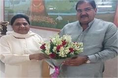 on the verge of breaking the alliance of inld bsp mayawati gave indication